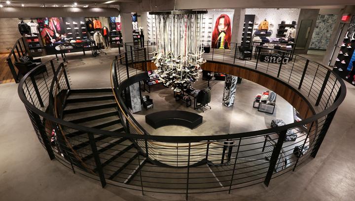 trappa med butiker